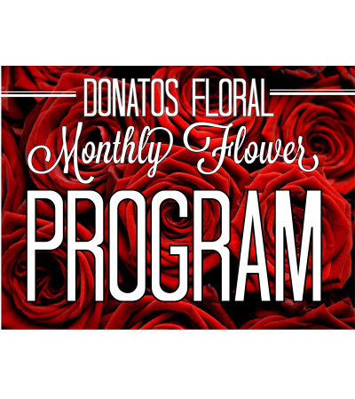 Platinum 12 Month Floral Program