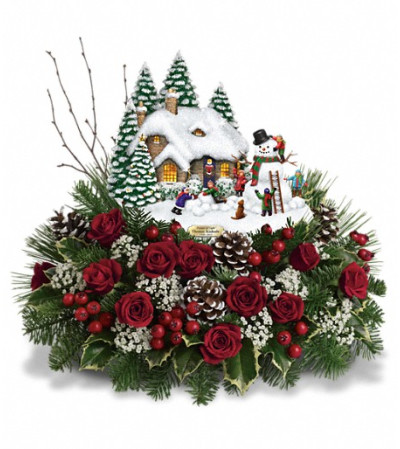 Thomas Kinkade's Winter Wonder by Teleflora