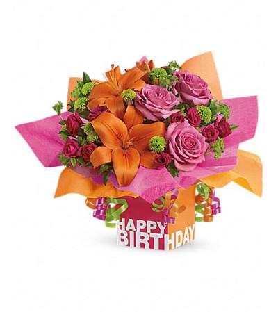 Rosy Birthday Present
