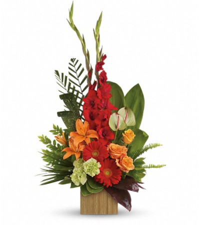 Heart's Companion Bouquet by Teleflora