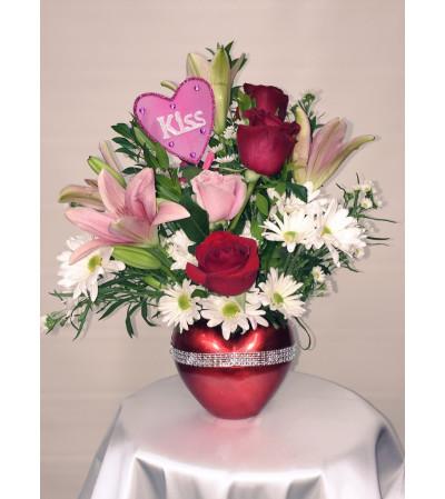 Radiant Heart Bouquet