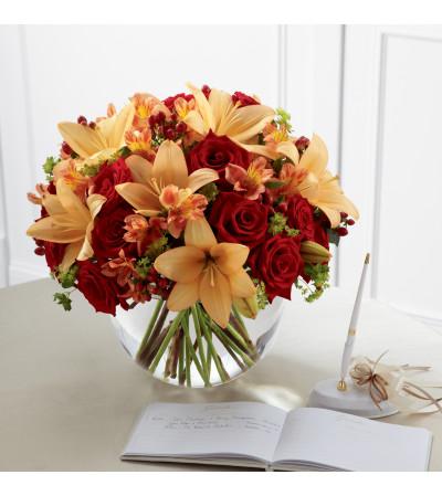The FTD® Lily & Rose Arrangement