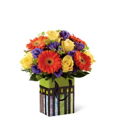 The FTD® Perfect Birthday Orange Bouquet
