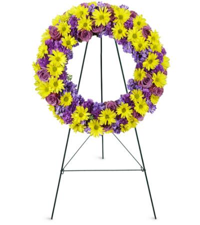 Sunrise Daisy Wreath™