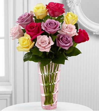 The Mixed Rose Bouquet