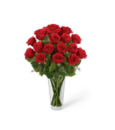 garden gate florists assurance - Red Garden Rose Bouquet