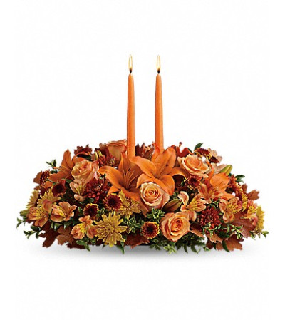 Traditional Thanksgiving Centerpiece