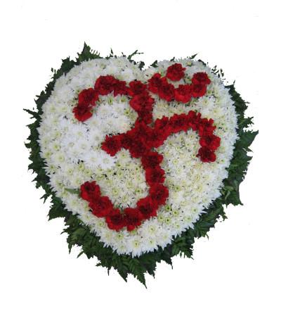 OM Hindu religious symbol