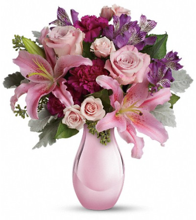 Enchanting Pinks by Teleflora