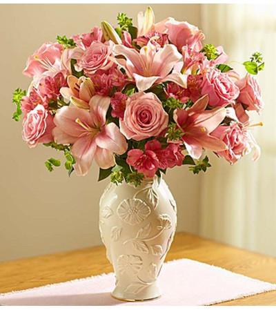 Loving Blooms in Lenox® Pink