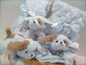 Baby Gift Basket for a Boy