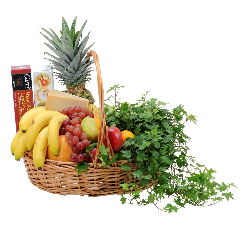 Fabulous Fruit and Cheese Basket