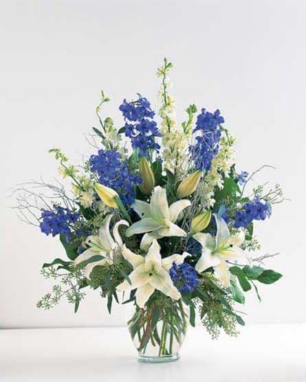 Blue Ocean Stars Vase