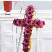 Gerbera standing Cross