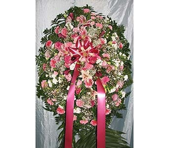 Pink Carnations & Pink Lillies