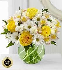 The FTD® Sunlit Blooms™ Bouquet