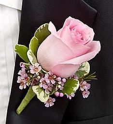 Boutonniere Pink