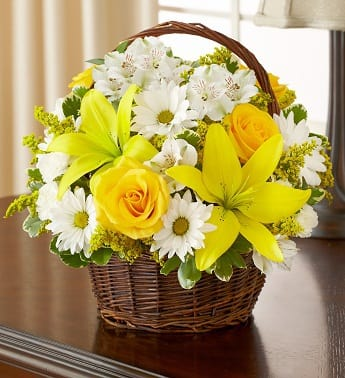 Peace, Prayers & Blessings - Yellow and White