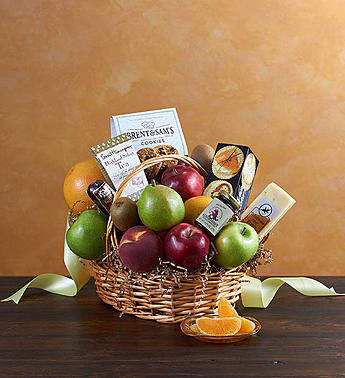 Deluxe Fruit & Gourmet Basket