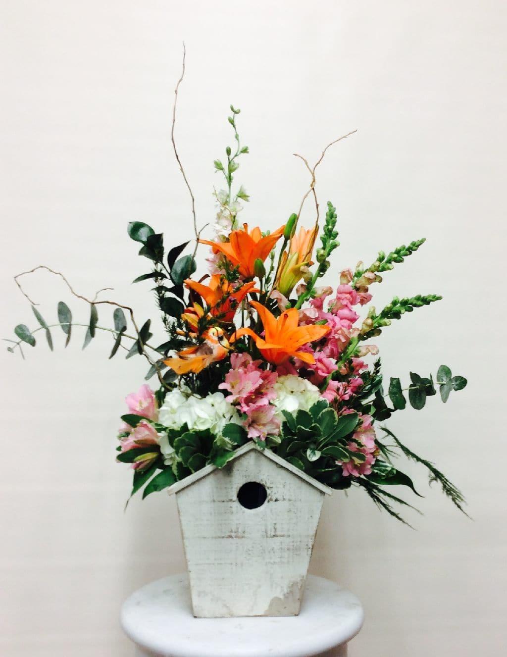 Bird House Delight Bouquet