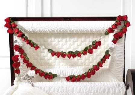 Rosary For Casket