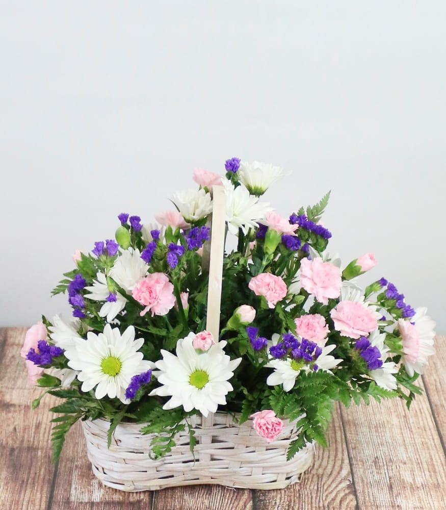 Springtime Blooms Basket