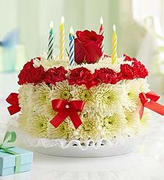 Flower Cake Birthday