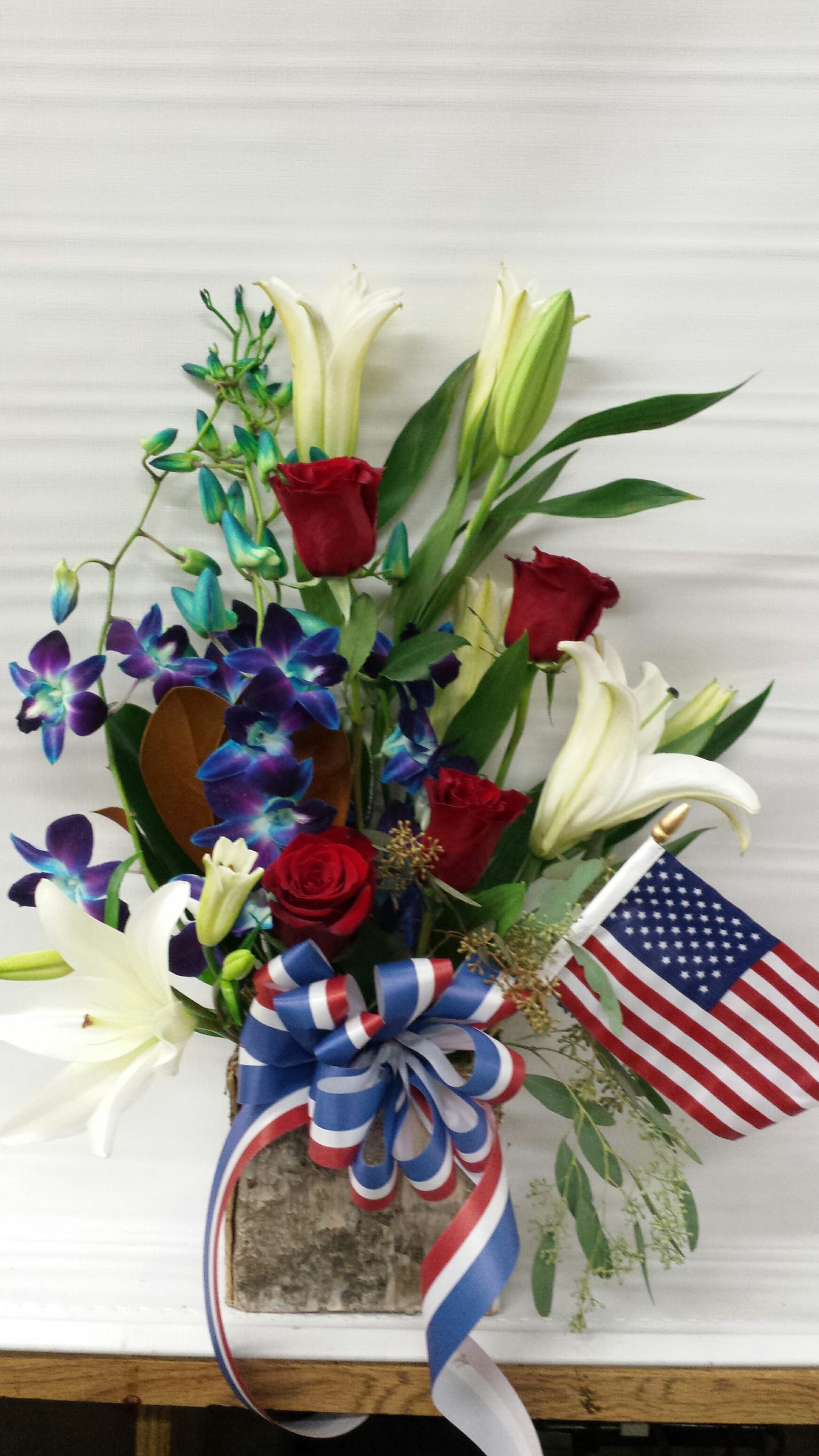Celebrate Red White and Blue