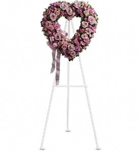 Rose Garden Heart Tribute
