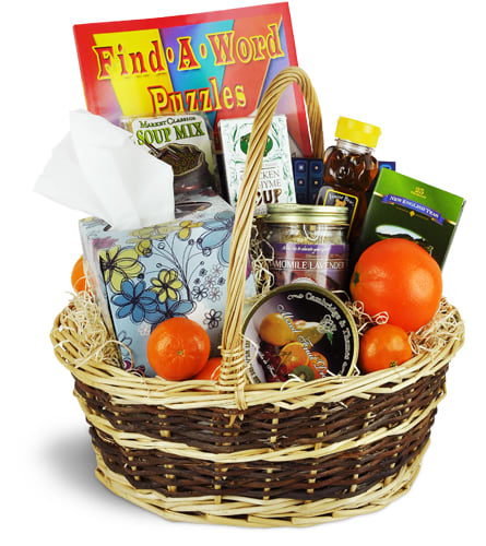 Get Well Wishes Basket™