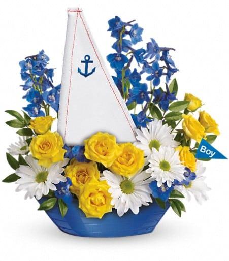 Ahoy, It's A Boy Bouquet by Teleflora