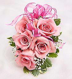 Rose Corsage Pink