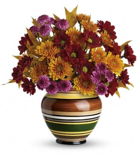 Teleflora's Rings of Autumn Bouquet