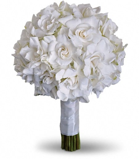 Gardenia and Grace Bouquet