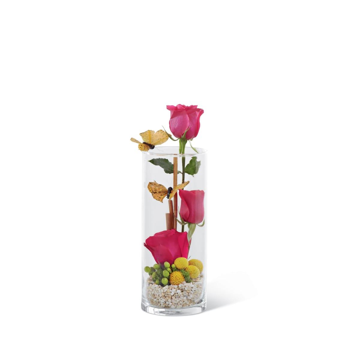 The FTD® Triple Delight™ Rose Bouquet