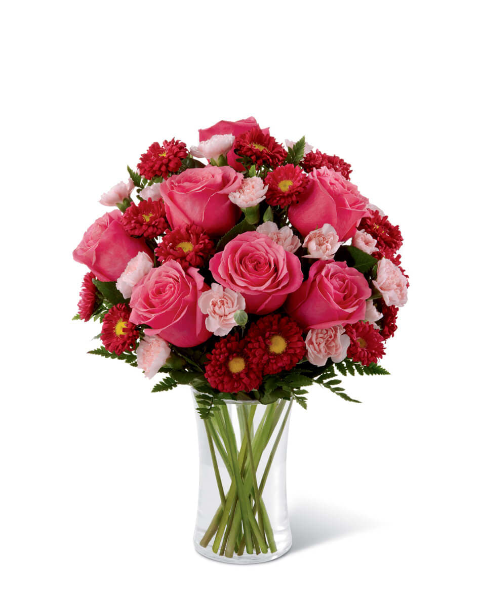 The FTD® Precious Heart™ Pink Bouquet