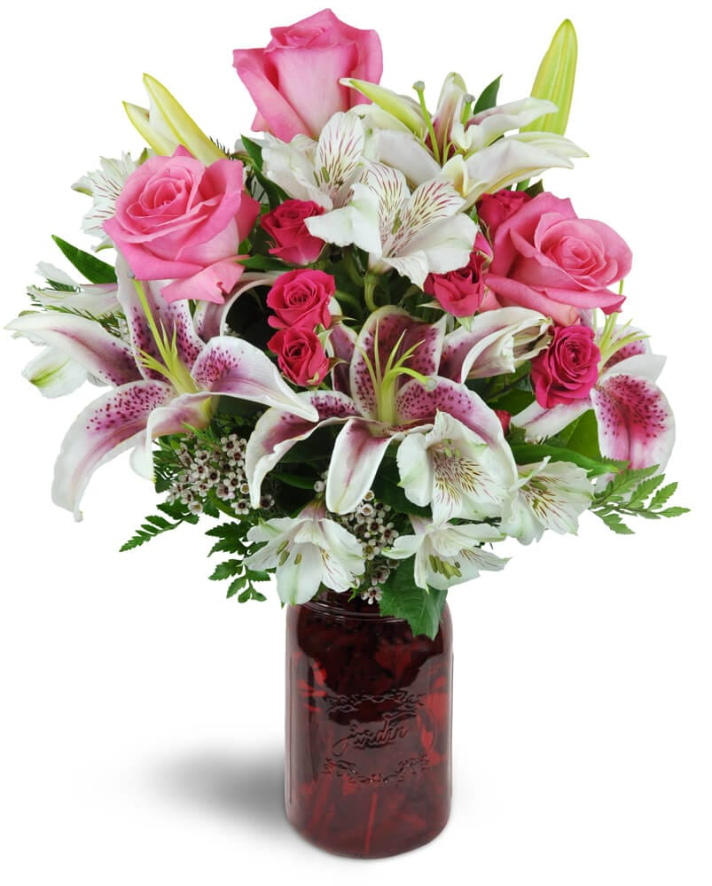 Same day flower delivery in nyc langdon florist nyc florist classic love bouquet dhlflorist Gallery