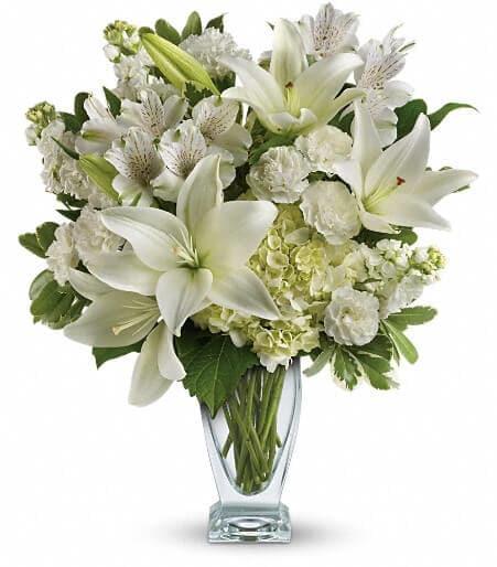 Teleflora's Purest Love Bouquet