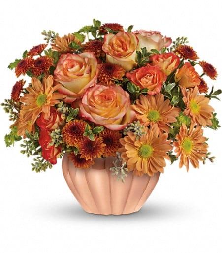 Teleflora's Joyful Hearth Bouquet