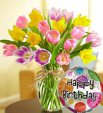Timeless Tulips® Happy Birthday