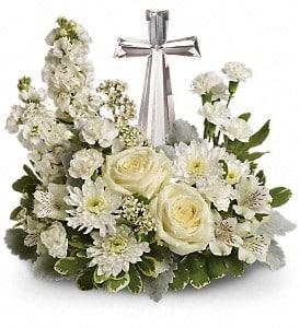Crystal Cross Divine Peace Tribute