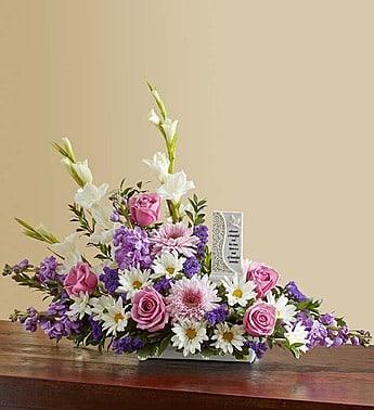 Beautiful Memories - Lavender and White
