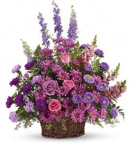 Lavender Basket Tribute