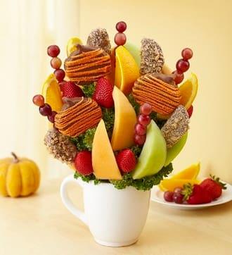 Autumn Cheer Fruit Bouquet