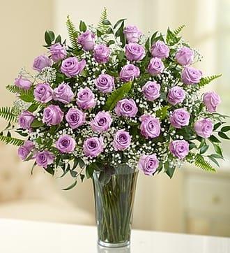 Ultimate Elegance™ Purple Roses