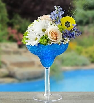 Blue Hawaiian Floral Margarita™