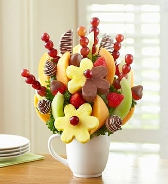 Cup of Cheer Fruit Bouquet