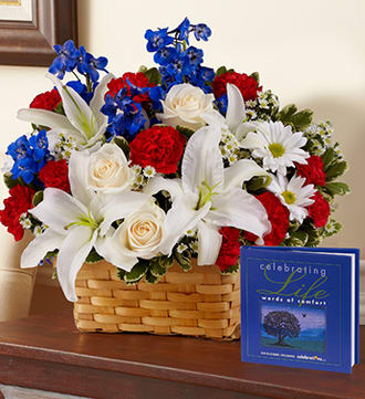 Celebrating Life - Red, White and Blue