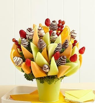Heartfelt Sympathy Fruit Bouquet