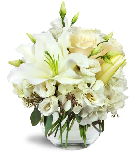 The Ftd Pure Perfection Bouquet